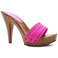 Chaussures Femme Mules Kiara Shoes K21101 Fuxia