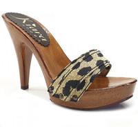 Chaussures Femme Mules Kiara Shoes K21101 Leopard
