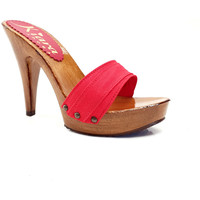 Chaussures Femme Mules Kiara Shoes K21101 Rouge