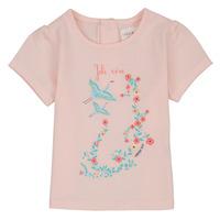 Vêtements Fille T-shirts manches courtes Carrément Beau NOLAN Rose