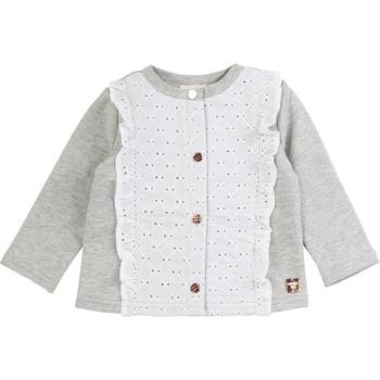 Vêtements Fille Gilets / Cardigans Carrément Beau ISA Gris