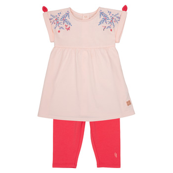 Vêtements Fille Ensembles enfant Carrément Beau SEVERINE Rose