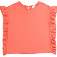 Vêtements Fille T-shirts manches courtes Carrément Beau LEANA Rose