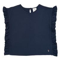 Vêtements Fille T-shirts manches courtes Carrément Beau KAMILLIA Bleu
