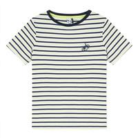 Vêtements Garçon T-shirts manches courtes 3 Pommes NORDINE Jaune