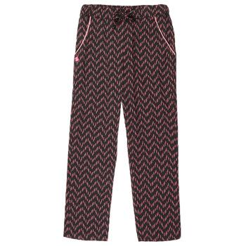 Vêtements Fille Pantalons 5 poches 3 Pommes ALICE Noir