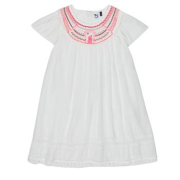 Vêtements Fille Robes courtes 3 Pommes LAURA Blanc