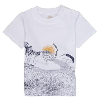 Vêtements Garçon T-shirts manches courtes Timberland ANTONIN Blanc