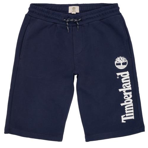 Vêtements Garçon Shorts / Bermudas Timberland OMAR Bleu