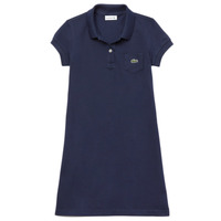 Vêtements Fille Robes courtes Lacoste TARIK Marine