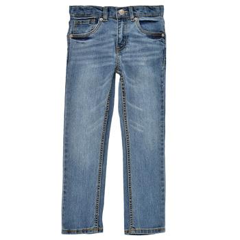 Vêtements Garçon Jeans skinny Levi's 511 SKINNY FIT Bleu medium