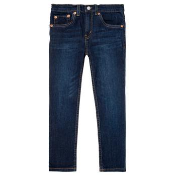 Vêtements Garçon Jeans slim Levi's 512 SLIM TAPER Bleu