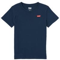 Vêtements Garçon T-shirts manches courtes Levi's BATWING CHEST HIT Marine