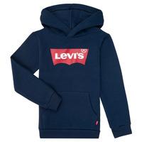 Vêtements Garçon Sweats Levi's BATWING SCREENPRINT HOODIE Marine