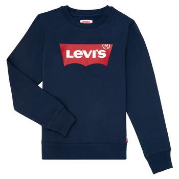 Vêtements Garçon Sweats Levi's BATWING CREWNECK Marine
