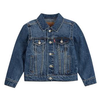 Vêtements Garçon Vestes en jean Levi's TRUCKER JACKET Bristol