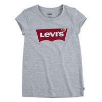 Vêtements Fille T-shirts manches courtes Levi's BATWING TEE Gris