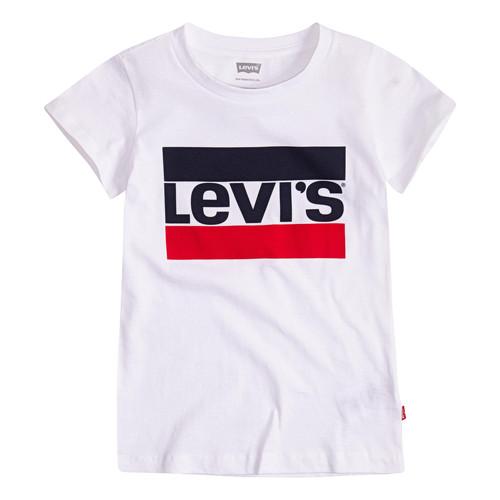Vêtements Fille T-shirts manches courtes Levi's SPORTSWEAR LOGO TEE Blanc