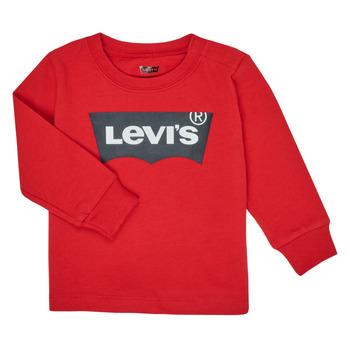 Vêtements Garçon T-shirts manches longues Levi's BATWING TEE LS Rouge