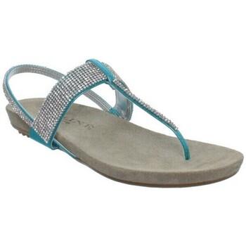 Chaussures Femme Sandales et Nu-pieds Meline Sandales Méliné ref_elle37186-turquoise Bleu