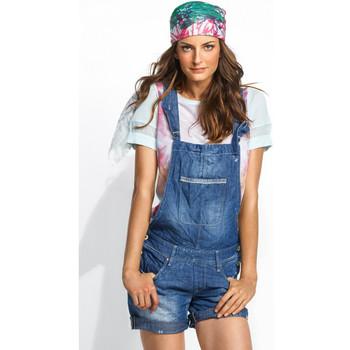 Vêtements Femme Combinaisons / Salopettes Salsa Salopette en jean  Leslie bleu Bleu