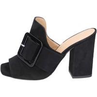 Chaussures Femme Mules Broccoli BP304 noir