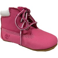 Chaussures Fille Chaussons Timberland Crib bootie with hat Rose