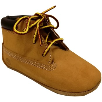 Chaussures Enfant Chaussons Timberland Crib bootie with hat Miel