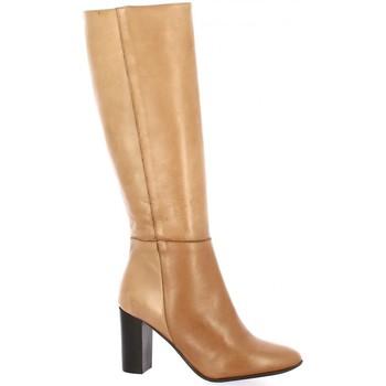 Chaussures Femme Bottes ville Pao Bottes cuir Cognac