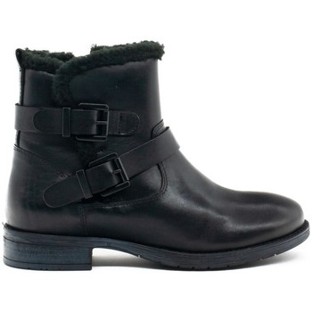 Chaussures Femme Bottines Wikers  Negro