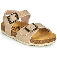Chaussures Enfant Sandales et Nu-pieds Plakton LOUIS Beige
