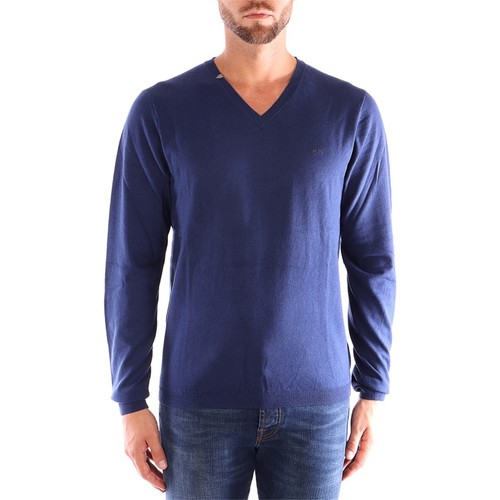 Vêtements Homme Pulls Sun68 K29102 Pulls homme Chine bleue Chine bleue