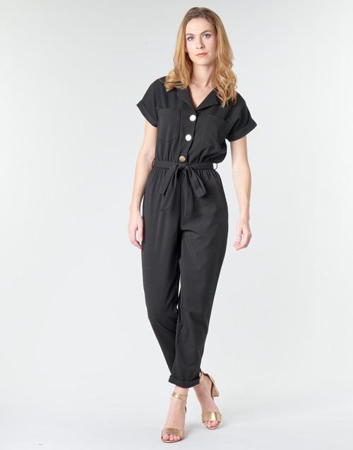 Vêtements Femme Combinaisons / Salopettes Betty London MYRTIL Noir