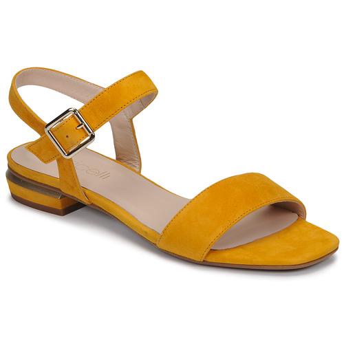 Chaussures Femme Sandales et Nu-pieds Fericelli MADDY Jaune