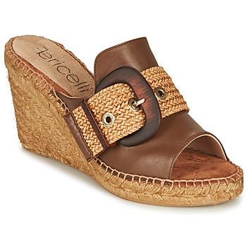 Chaussures Femme Mules Fericelli MELISSA Cognac