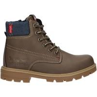 Chaussures Enfant Boots Levi's VFOR0001S FORREST Marr?n