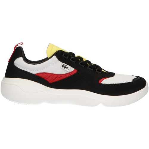 Chaussures Homme Multisport Lacoste 38SMA0051 WildCard 1B5 BLK-RED Negro