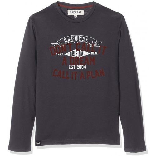 Vêtements Garçon T-shirts manches longues Kaporal T-Shirt Manches Longues Garçon Neam Gris