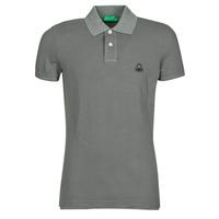 Vêtements Homme Polos manches courtes Benetton MARADI Gris