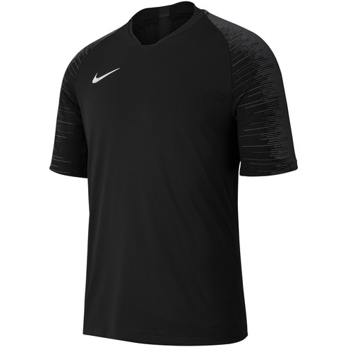 Vêtements Homme T-shirts manches courtes Nike Dry Strike SS Jersey Schwarz