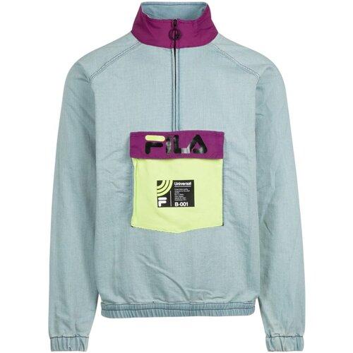 Vêtements Homme Blousons Fila Blouson Denim Stretch 684461 Doug  - les BLEUS