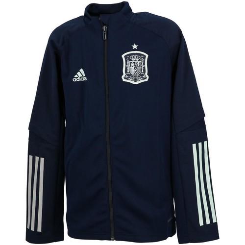 Vêtements Garçon Vestes de survêtement adidas Originals Espagne veste h 2020 Bleu marine / bleu nuit