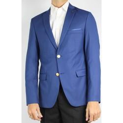 Vêtements Homme Vestes de costume Kebello Veste de blazer 2 boutons Taille : H Bleu 46 Bleu