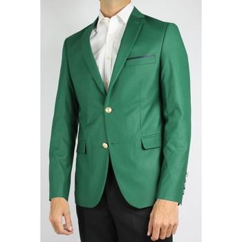 Vêtements Homme Vestes de costume Kebello Veste de blazer 2 boutons H Vert Vert