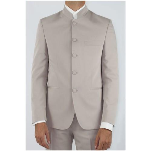 Vêtements Homme Vestes de costume Kebello Veste col mao H Beige Beige