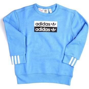 Vêtements Garçon Sweats adidas Originals ED7882 Sweat Junior unisexe Céleste Céleste