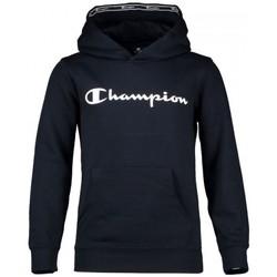 Vêtements Garçon Sweats Champion Sweat-shirt à capuche  en coton pour enfants Bleu