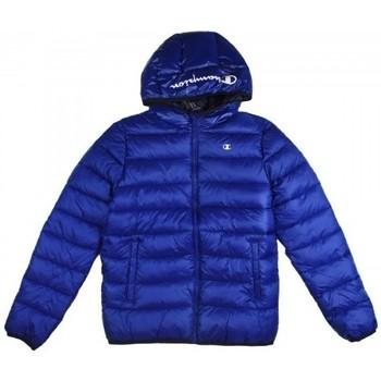Vêtements Garçon Doudounes Champion Veste à capuche  pour garçon Bleu