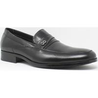 Chaussures Homme Mocassins Baerchi Chaussure homme  4687 noir Noir