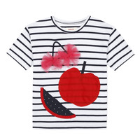 Vêtements Fille T-shirts manches courtes Catimini KUSY Blanc